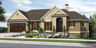 Sloped Lot House Plans Mascord House Plan 1144ea The Tumalo