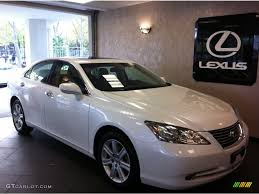 lexus es white 2009 starfire pearl white lexus es 350 55875353 gtcarlot com