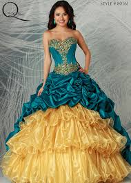 gold quinceanera dress quinceanera dresses from q by