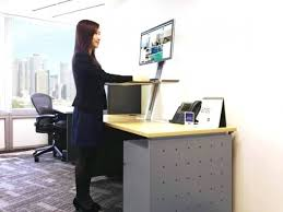 Office Max L Desk Stunning Design Office Max Standing Desk Extremely Creative With