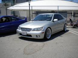 white lexus is300 slammed aristo kyoei usa part 2