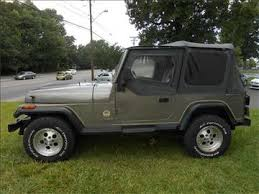 used jeep wrangler for sale in nc 1989 jeep wrangler for sale carsforsale com