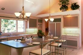 simple kitchen and dining room lighting ideas home design ideas