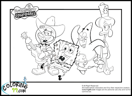 sponge bob coloring pages gary the snail and spongebob found