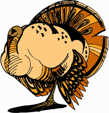 happy thanksgiving turkey picture flash cards memory cards
