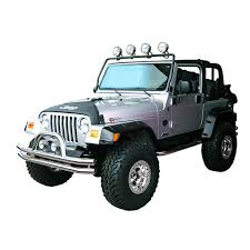 jeep wrangler black lights rugged ridge 11232 01 frame light bar black 97 06 jeep wrangler