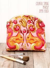 makeup zipper pouch