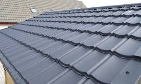 Lightweight Roof Tiles Lightweight Roof Budget Tile Ungranulated Black Roofing