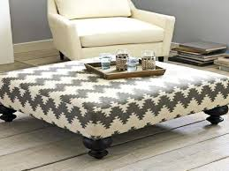 square upholstered ottoman coffee table u2013 mcclanmuse co