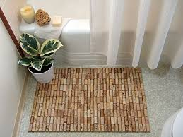 Julius Bath Rug Make A Bath Mat Out Of Wine Corks