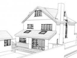 House Extension Design Ideas Uk Lapworth House Extension As Proposed Rear House Extension Ideas