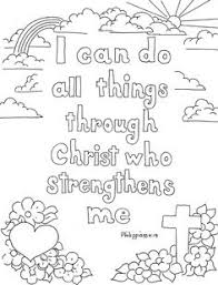 Coloring Pages For Kids By Mr Adron Philippians 4 13 Print And Coloring Pages For 10 Year Olds