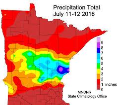 Rainfall Totals Map Tim Burr U0027s Weather Blog Summer 2016 Climate Summaries 10th