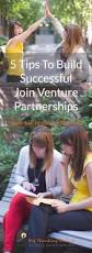 5 tips for building successful joint venture partnerships