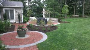 Firepit Brick Landscape Patio Pit Archives Garden Design Inc Brick Pa