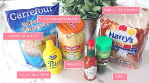 elsamakeup cuisine sandwichs surimi ingrédients les essentiels d été d elsamakeup