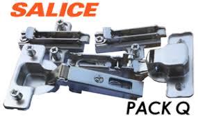kitchen cupboard door hinge repair kit b q pack q 1 x pair salice b q standard hinges clip on for