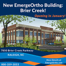 orthopedic clinic physical therapy urgent care brier creek nc