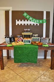 football party ideas tailgating birthdays and bowls