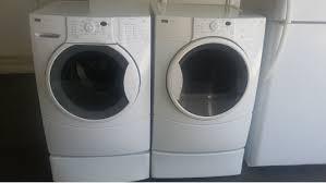 Kenmore Elite Washer Pedestal Front Load Sets Kimo U0027s Appliances