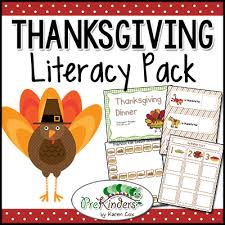 thanksgiving theme prekinders