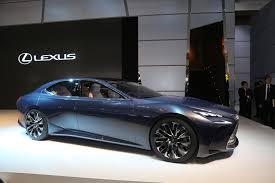 lexus lf lc specifications lexus lf fc flagship concept is a thinly veiled ls with fuel cell