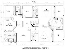 Double Wide Floor Plans With Photos Mobile Homes Floor Plans Double Wide Trends Including 5 Bedroom In