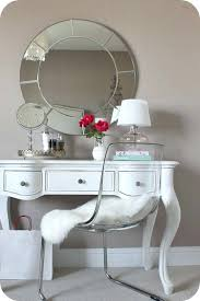 Clear Vanity Table Vanity Table Chair Mirror For The Small Desk In Bedroom Ghost