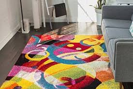 Modern Colorful Rugs Bright Colored Area Rugs Bedroom Windigoturbines Bright Colored