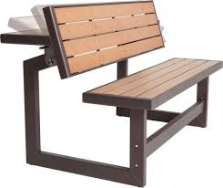 patio table and bench lifetime convertible picnic table bench patio table