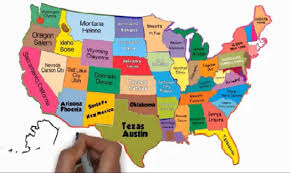 us map states and capitals quiz states capitals map usa map and the united states satellite