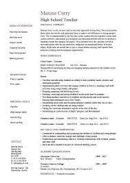 Free Resume Templates For Students Sample Resume Templates For Highschool Students Word Resume