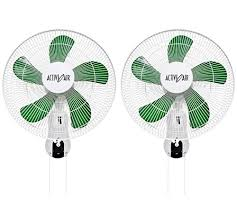 grow room oscillating fans 2 hydrofarm acf16 active air 16 wall mountable oscillating