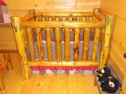 Cheap Baby Bedroom Furniture Sets by Rustic Baby Crib Furniture Made Of Nature Log Decofurnish