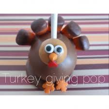 thanksgiving treat turkey cake pops pretty sweat