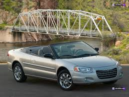 chrysler sebring convertible jr specifications description photos