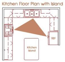 kitchen floor plans with island kitchen floor plans island