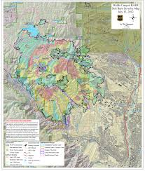 Canada Forest Fire Map by Waldo Canyon Fire 20 Percent Of Soil So Severely Burned It Is