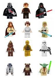 wars edible cake toppers 12 stand up premium wafer paper lego wars edible cupcake