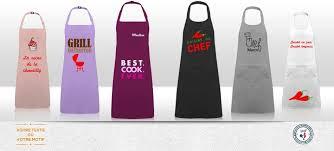 tablier cuisine personnalisé pas cher tablier et toque pour enfant personnaliser tablier de cuisine