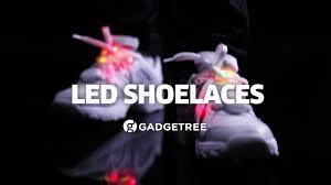 led shoelaces gadgetree light up led shoelaces en
