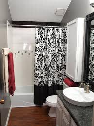 Black Bathroom Tiles Ideas by Bathroom Rms Smwagne Black White Red Modern Bathroom Black