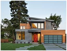 americas modern exterior house design north east house plans