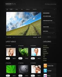 templates for video website 35 outstanding video website templates free premium wpfreeware