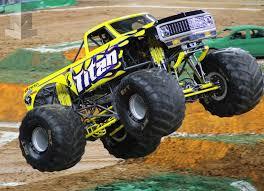 monster truck jam houston 2015 all new pei chassis debut razin kane jester and titan