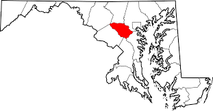maryland map by county outline file map of maryland highlighting howard county svg wikimedia