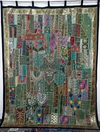 Sari Fabric Curtains Exclusive Curtain From The Indian Collection