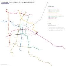 Marta Train Map Mexico City Metro Lines Wikipedia