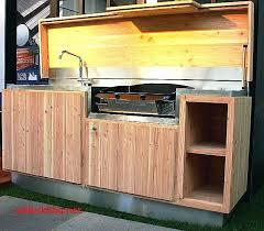 meuble cuisine d été meuble de cuisine extérieure idée de modèle de cuisine