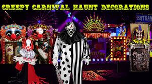 Creepy Carnival Decorations Creepy Carnival Haunt Decorations Trendyhalloween Com